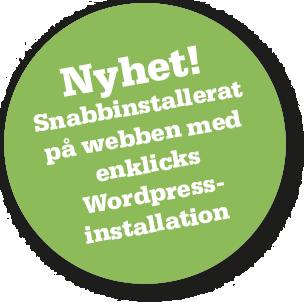Enklicks WordPress-installation
